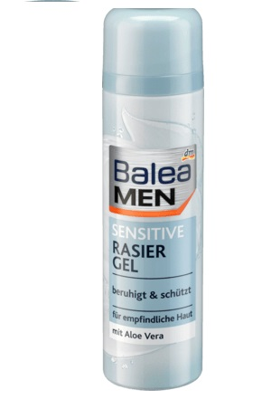 Balea Rasier Gel Men Sensetive - Гель для бритья сенсатив 200 ml