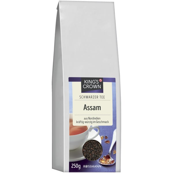 King's Crown Schwarzer Tee Assam Чай черный ассам